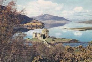 Scotland Wester Ross Eilean Dorian Castle Loch Duich
