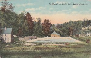 APOLLO, Pennsylvania, 1900-10s; The Filter Beds, Apollo Water Works