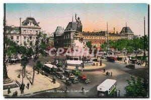 Modern Postcard Paris Place de la Republique