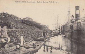 POINTE-a-PITRE (Guadeloupe) , 00-10s : Depot de Charbon