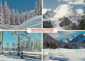 Canada Multi View Snowscapes British Columbia