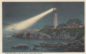 LIGHTHOUSE , Portland , Maine , 1910s