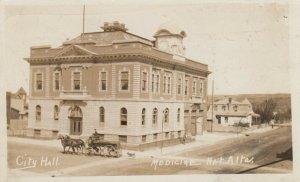 RP, MEDICINE HAT , Alberta , Canada , 1900-1910s ; City Hall
