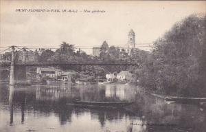 NORT SUR ERDRE, Loire Atlantique, France, 1900-1910's; Vue Generale