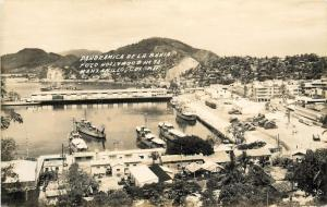 Panorama De La Dela Bannia. Foto Hollywood#78 Manzanillo Mexico Photo Postcard