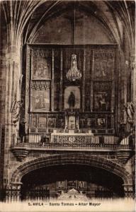 CPA Avila Santo Tomas, Altar Mayor SPAIN (744123)