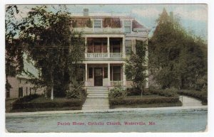 Waterville, Me, Parish House, Catholic Church