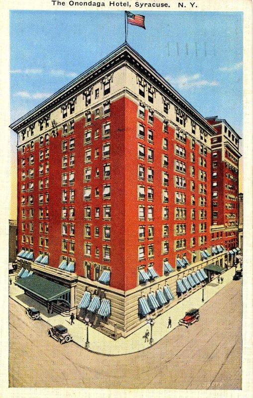 NY - Syracuse. Onondaga Hotel
