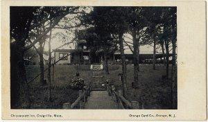 1901-07 Craigville Mass MA Chiquaquett Inn Massachusetts Orange Co. UDB Postcard