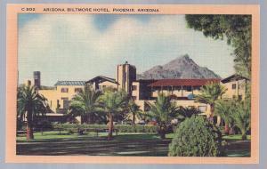 Biltmore Hotel Phoenix AZ unused 1930's