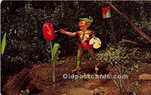 Ligonier, Pennsylvania, PA, USA Postcard Busy Elves, Story Book Forest 1971