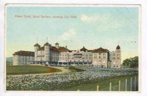 Potter Hotel, Santa Barbara, Showing Lily Field, California, 1900-1910s