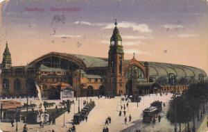 Germany Hamburg Hauptbahnhof 1921