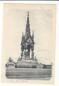 UK England London Albert Memorial Vtg Beagles No14 Postcard