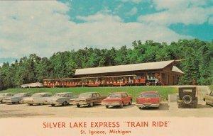 Michigan St Ignace Silver Lake Express Train Ride sk6729