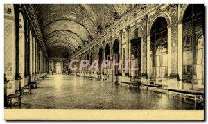 Old Postcard Chateau De Versailles Galerie Des Glaces