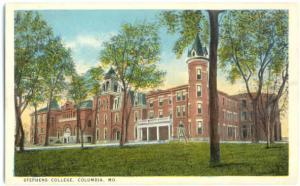 Stephens College, Columbia, Missouri, MO, White Border