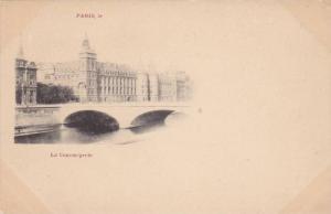 Bridge, La Conciergerie, Paris, France, 1900-1910s