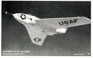 Northrup X4, USAF