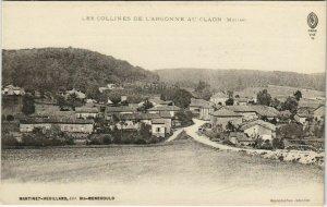 CPA LES COLLINES DE L'ARGONNE AU CLAON Meuse (152570)