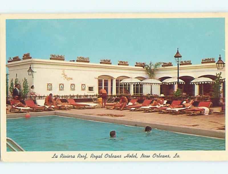 Unused Pre-1980 ROYAL ORLEANS HOTEL New Orleans Louisiana LA Q4309
