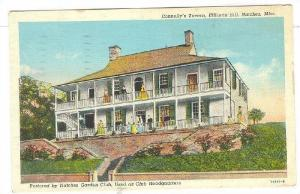 Connelly's Tavern, Ellicotts Hill, Natchez, Mississippi, PU 1942