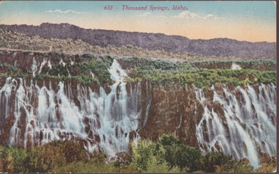 Hagerman ID - THOUSAND SPRINGS State Park 1900s