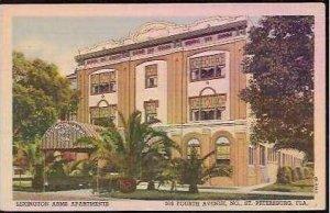 FL St Petersburg Lexington Arms Apartments 1955