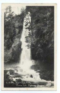 RPPC, Mill Creek Falls, Crater Lake Highway, Oregon, OR , EKC RP