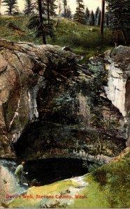 Washington Stevens County Devil's Well