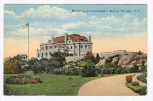 Residence Of Commodore James, Newport, Rhode Island, 1900-1910s