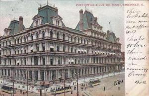 Ohio Cincinnati Post Office &  Custom House 1905