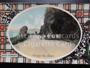 Girvan: Kennedy Pass, TARTAN, Dress Stewart - Pub by Philco No.4132