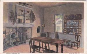 Virginia Mount Vernon The Family Kitchen