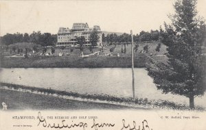 STAMFORD, New York, PU-1905; The Rexmere and Golf Links, TUCK # 2199