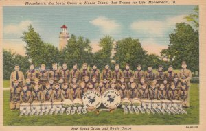 MOOSEHEART , Illinois , 1930-40s ; Boy Scout Drum & Bugle Corps