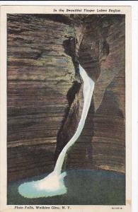 New York Watkins Glen Pluto Falls Curteich