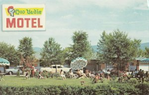 KELOWNA , B.C. , 50-60s ; Quo Vadis Motel