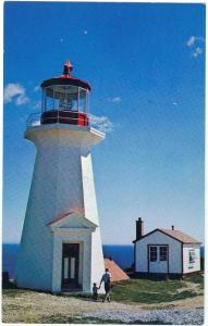 Lighthouse at Shipshead Gaspe