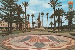 Plaza of Spain - Plaza de Espnaa - Melilla, Spain - pm 1988