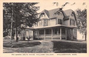 Williamstown MA~Williams College Phi Gamma Delta Fraternity House c1915