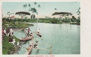 Hawaiian Fisher men , HILO , Hawaii , 1901-07