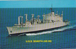 U S S SHASTA (AE-33)