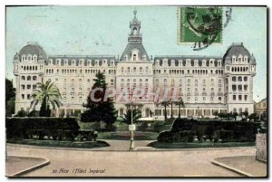 Postcard Old Nice Hotel Imperial