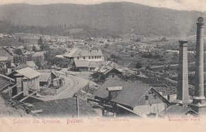 Salutari din Romania , Busteni , 1890s; Vederea Generala