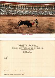 CPA Bullfighting - Suerte de Matar (775860)