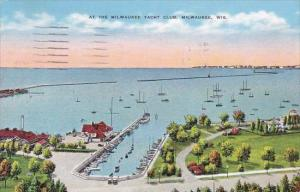 At The Milwaukee Yacht Club Milwaukee Wisconsin 1940