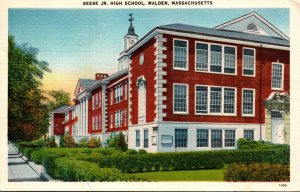 Massachusetts Malden Beebe Junior High School 1948