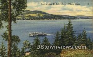 Seeweewana Lake Coeur d'Alene ID Unused