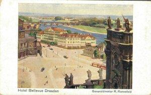 Germany Hotel Bellevue Dresden Generalddirektor R. Ronnefeld 03.51